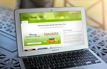 beauty wordpress website design