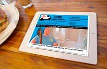 wordpress plumber website